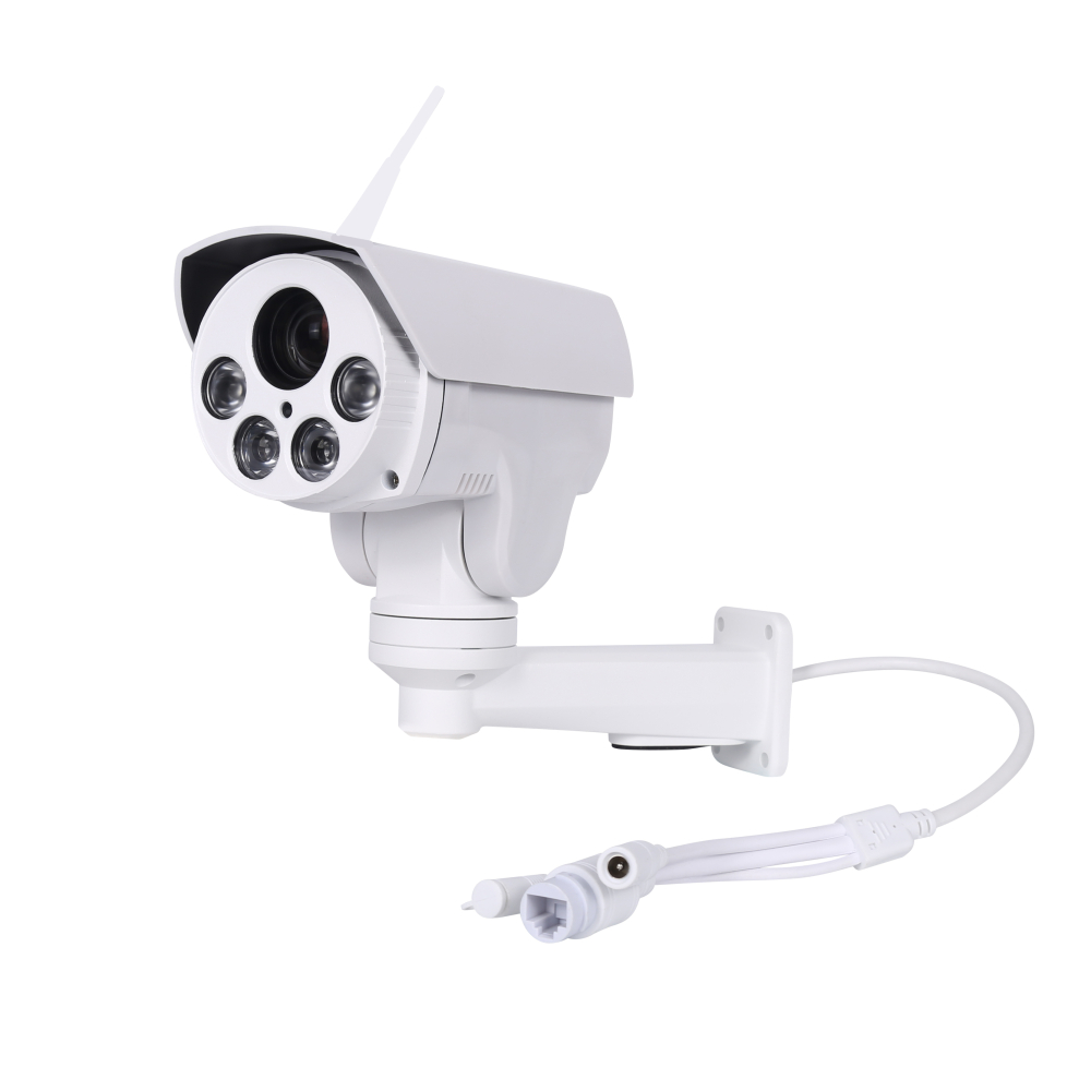 Full HD 2MP WiFi PTZ Outdoor Camera 4XZoom 2.8-12 Auto Varifocal Waterproof Wireless ONVIF Infrared IP Camera CamHi Cam 50M IR 6