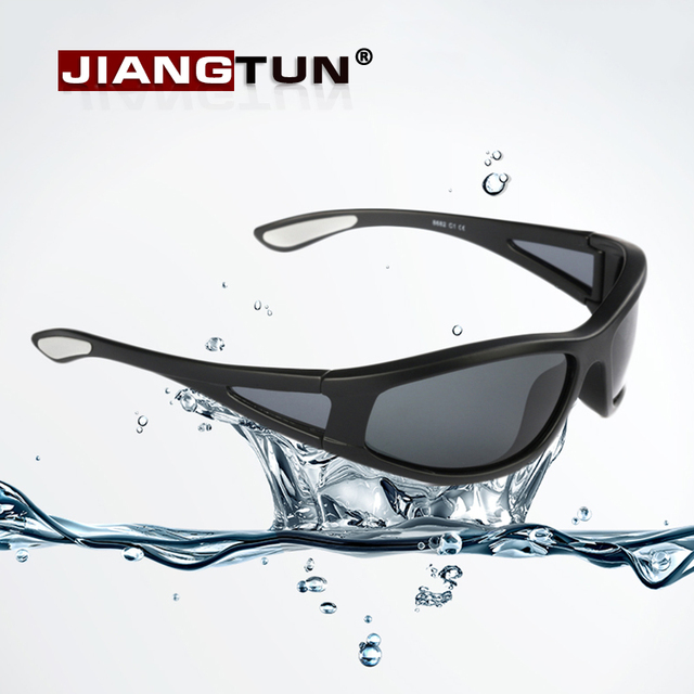 e1f26028076 JIANGTUN New Float Sunglasses Male Sun Glasses Driving Fishing Floating  Water Glasses HD Polarized Lens Water Sports Masculino