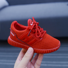 New Autumn Top hot Children Sport Shoes Girls and Boys Air Mesh Breathe Running Shoes Soft Nonslip Kids Sneaker High Quality