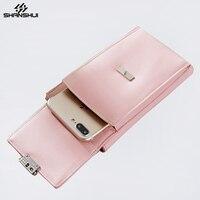 Women Shoulder Strap Mini Crossbody Phone Bag Case For SAMSUNG S7 S8 IPhone X 6 7
