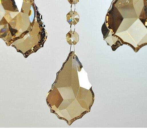 maple leaf prisma do candelabro peças pingente frete grátis