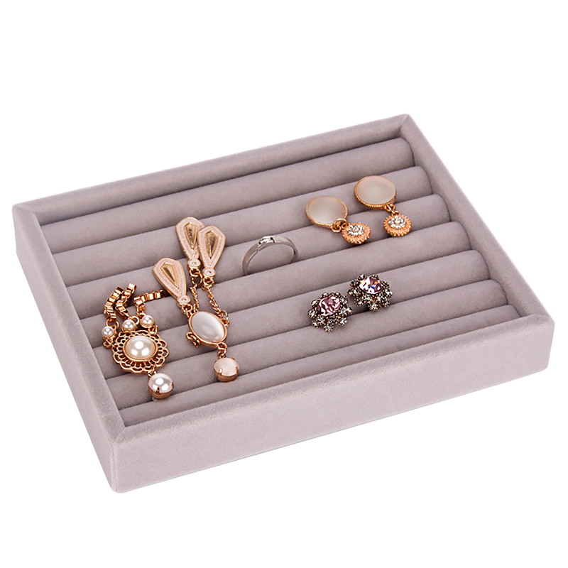 Drawer Diy Rings Bracelets Gift Box Jewelry Storage Tray Jewellery Organizer Earrings Holder Small Size Fit Most Room Space Gr(China)