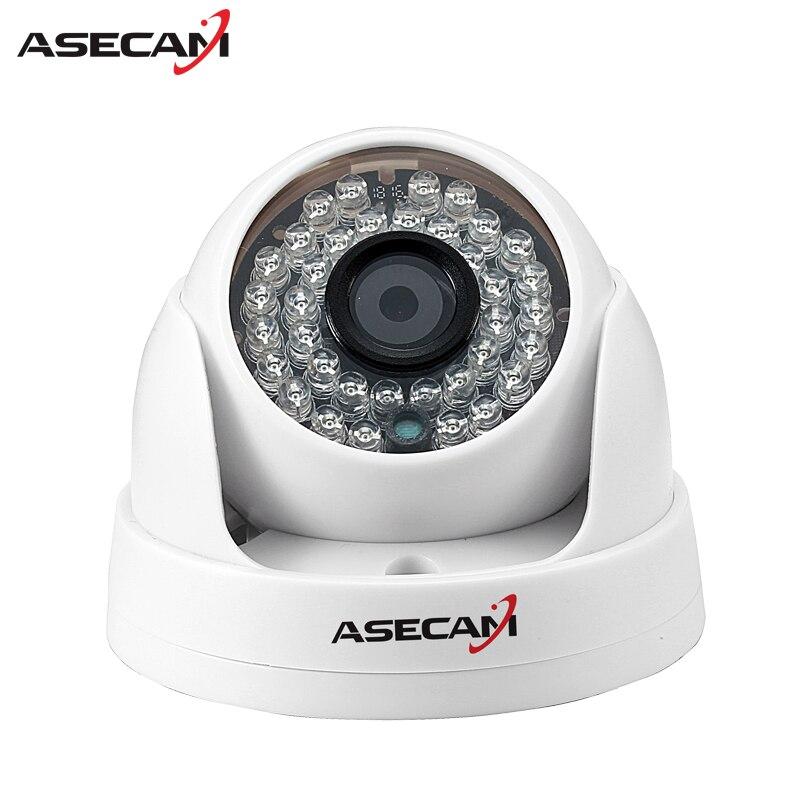 HD IP Camera 1080P indoor white Dome Surveillance Camera CCTV IR Night Vision Onvif WebCam Security ipcam installer web cam zea afs011 600tvl hd cctv surveillance camera w 36 ir led white pal