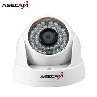 HD IP Camera 1080P Indoor White Dome Surveillance Camera CCTV IR Night Vision Onvif WebCam