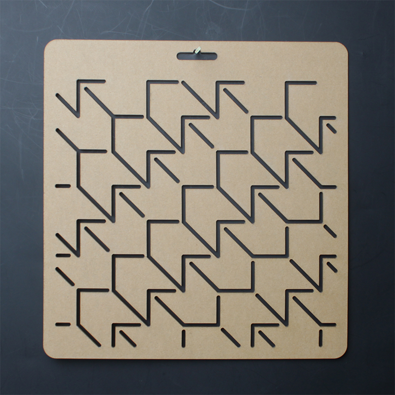 feather figure 20*20cm costura Sashiko stitching embroidery <font><b>drawing</b></font> Quilting template, regua para patchwork ruler plotting board