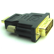DVI-D To HDMI 24+1 Male to HDMI Male M/M Adapter Converter For HDTV LCD Monitor