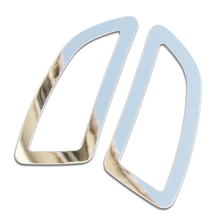 Stainless steel trim outlet decoration car stickers For Opel Insignia sedan Sport Tourer 2009 2010 2011 2012 2013 2014 2pcs/set