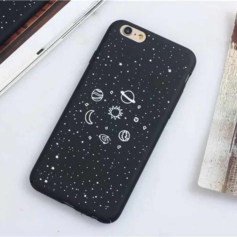brand new 364aa 7925b US $2.89 |1 Pc/lot Hard PC Full Fitted Black Universe Star Space Pattern  Back Cover Cell Phone Case for iPhone 6s Plus-in Fitted Cases from  Cellphones ...