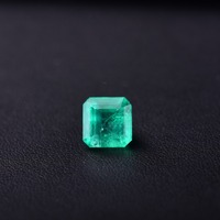 3.6 CT Rectangle Natural emerald . Specifications: 8.9mm*8.7mm*6.4mm