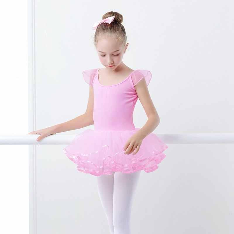da16d5413 Detail Feedback Questions about Round Neck Ballet Fluffy Dress Swan ...