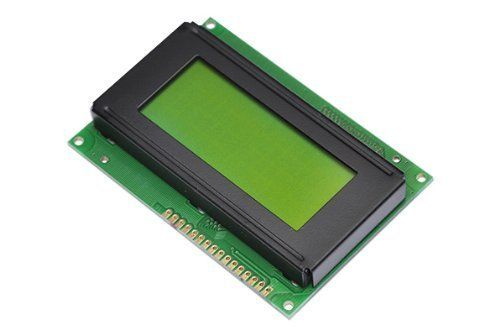 1pcs 5V LCD 16x4 1604 Character LCD Display Module LCM Yellow Blacklight NEW