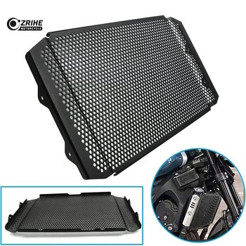 CNC Motorcycle Parts Aluminium Black xsr900 Radiator Side Guard Grill Grille Cover Protector For Yamaha XSR 900 2016 2017 2018
