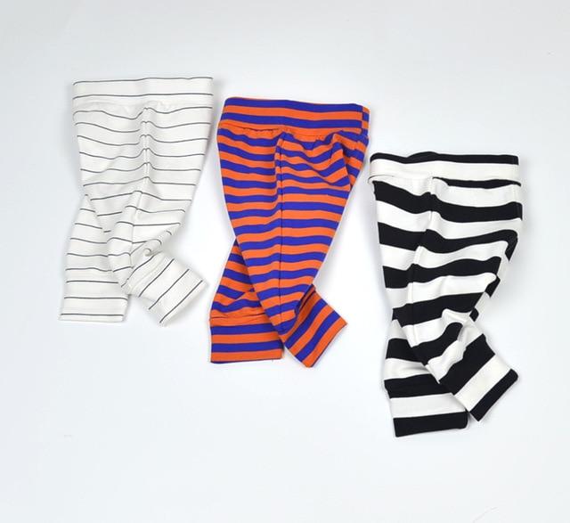 2016 Infant Pants 0-2Yrs Baby Boys Girls striped harem Pants Fashion New Baby Clothing Pantalones Autumn Spring Cotton Pant