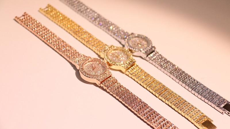 HTB1SyPKLMHqK1RjSZJnq6zNLpXai Bs Bee Sister Diamond Women Watches Luxury Brand Small Dial Female Rose Gold Watches Ladies Stainless Steel Lock Bayan Kol Saati