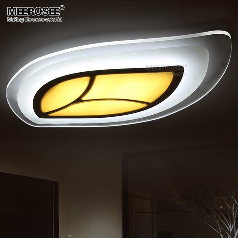 New Design Ceiling Lights : New design led ceiling light fixture leaf shape