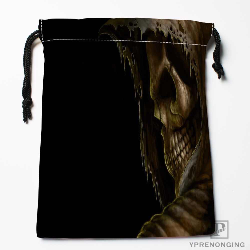 ... Custom Skull Drawstring Bags Printing Travel Storage Mini Pouch Swim  Hiking Toy Bag Size 18x22cm# ...