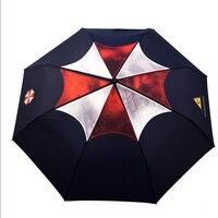 Resident Evil Umbrell Aguarda Chuva Umbrella Creative Windproof Umbrella Ghibli Genuine Personality Umbrella Rain Women GiftS569