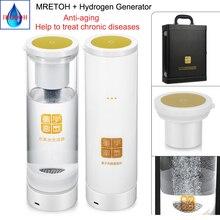 Healthy Anti-Aging H2 Water + MRETOH Molecular Resonance Wireless transmission Hydrogen generator With Acid water cavity