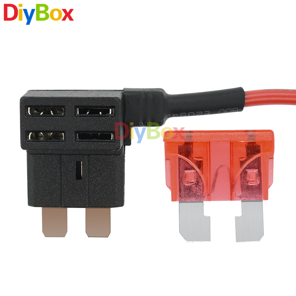 12v Standard Car Blade Fuse Holder Add A Circuit Electric Appliance Addacircuit Back Adapter Socket Cable In Fuses From Home Improvement On
