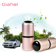 все цены на GIAHOL Car Air Purifier Cleaner Portable Mini Car air freshener Air Ionic Purifier Oxygen Bar Ozone Lonizer  Super Mute Pink онлайн