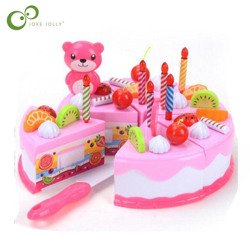 Childrens Toys At Home Toys Little Girl Lights Birthday Cake Chess