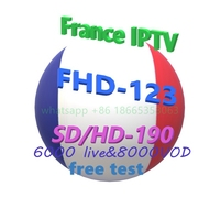 UK, Germany, France, Arabic, Portugal 6000 live IPTV M3U subscription support Android M3U Enigam 2 Mag iOS smart TV PC