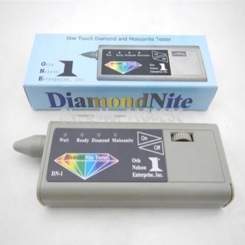 FREE SHIPPING!!! jewelry testing tool Reliable Diamond & Moissanites Tester, Diamond detector Detail GEMSTONE selector