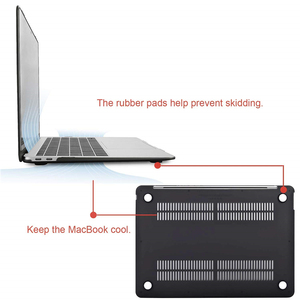 Image 4 - Crystal\Matte Protective Cover Case for Macbook Air Pro Retina 11 12 13 Laptop Bag for mac book 13.3 inch with Touch Bar Shell
