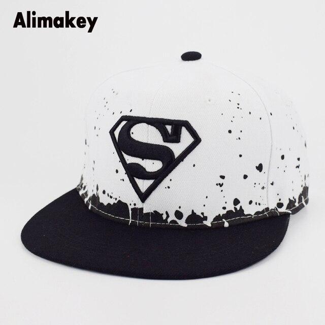 c17445d782d Fashion Superman Cartoon Snapback Caps Adult   Child Baseball Hat Bone For Boys  Girls Hip Hop Caps Kids Sun Hat Men Summer Hats