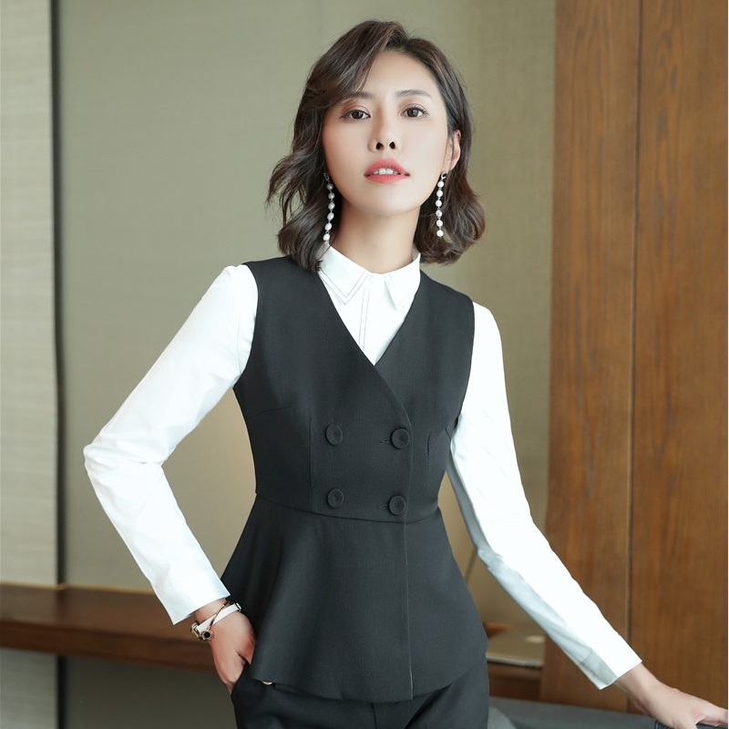 Suits & Sets Spring Autumn Fall Black Blue Uniform Styles Formal Blazers Suit Women Jackets Coat Office Ladies Work Wear Tops Clothes Blaser Soft And Light
