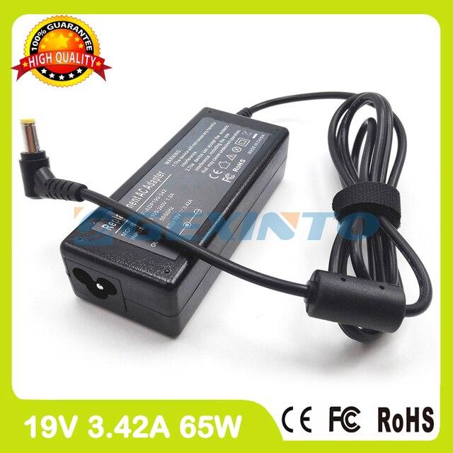 19V 3.42A Адаптер зарядного устройства для ноутбука 04G2660047L1 ADP-65NB AB для asus R400N U31S W6000 X4GSM X450LN X8DIJ X82Se UL30AT Z99T
