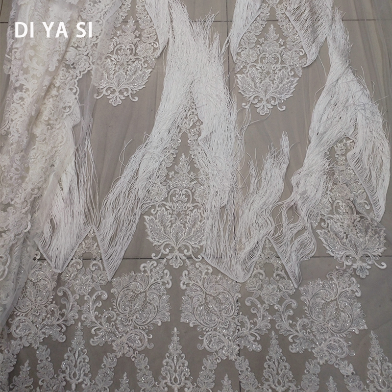 French Voile Guipure 3d 2018 high quality African cotton Embroidery Lace Fabric for wedding party dress lace fabric 5 yard/lot