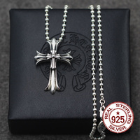 925 Sterling Silver Men S Pendant Necklace Cross Scout Is A Style That Is Simple And
