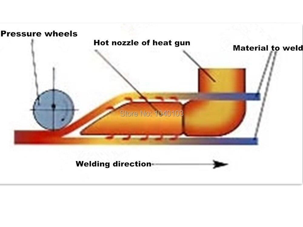 Горячая палатка горячего воздуха сварочный аппарат один свободный нагреватель
