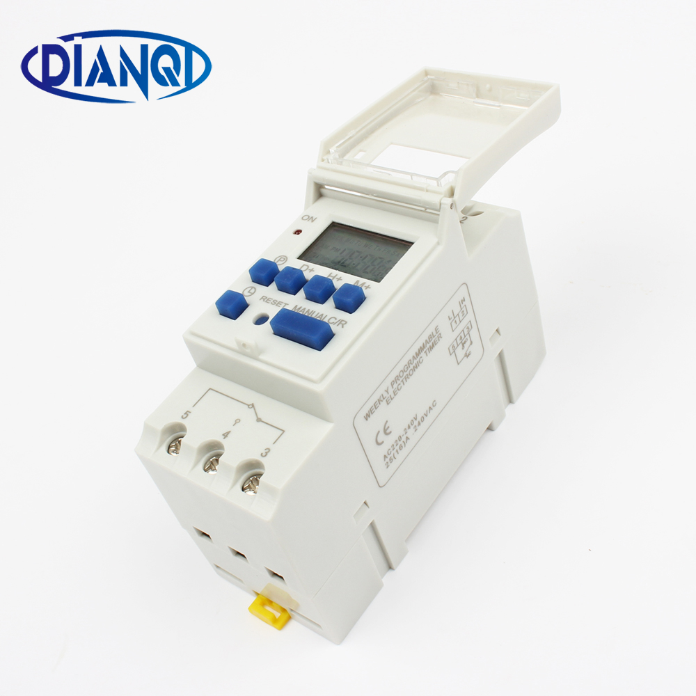 Oprindeligt Electronic Weekly 7 Days Programmable Digital TIMER SWITCH Relay EF44