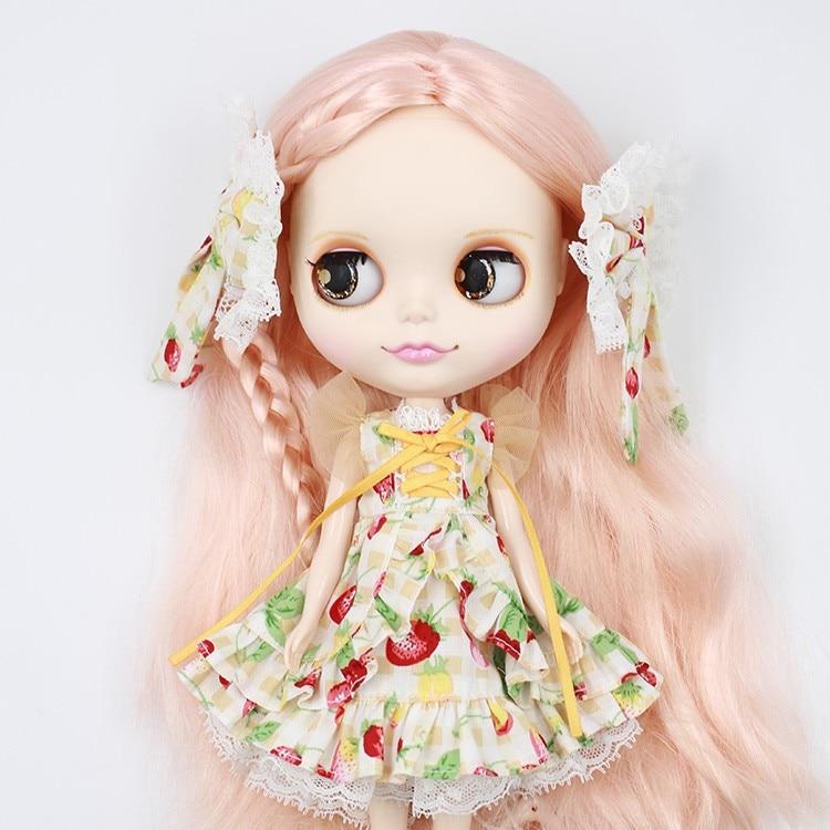 Neo Blythe Doll Butterfly Skirt Dress 5