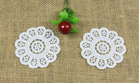 100pcs/LOT Garment accessories wholesale rose gold composite water soluble lace embroidery flower piece