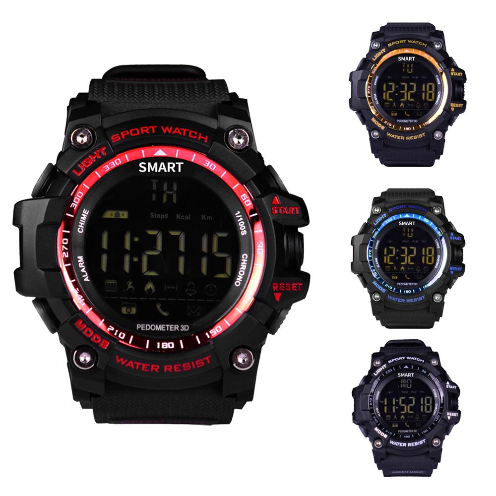 Prix pour Étanche Sport Smart Watch Montre-Bracelet EX16 SmartWatch avec Podomètre Compteur de Distance Dispositif Portable pour iOS et Android