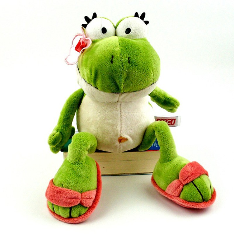 The Frog Prince Cute Frog Plush Toy Children Lovers Birthday Christmas Present 1pcs Animal Doll 40cm 50cm 70cm