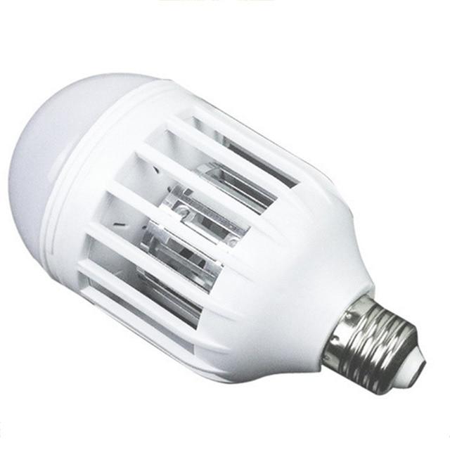 E27 LED Bulb Mosquito Electronic Killer Night Light Lamp Insect ...