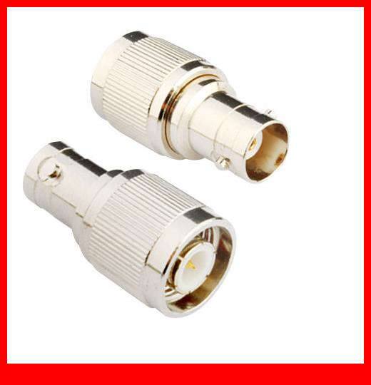 10 pcs  RF Coaxial adapter BNC Female to TNC Male Straight 10 pcs rf coaxial adapter sma female to mcx male straight new