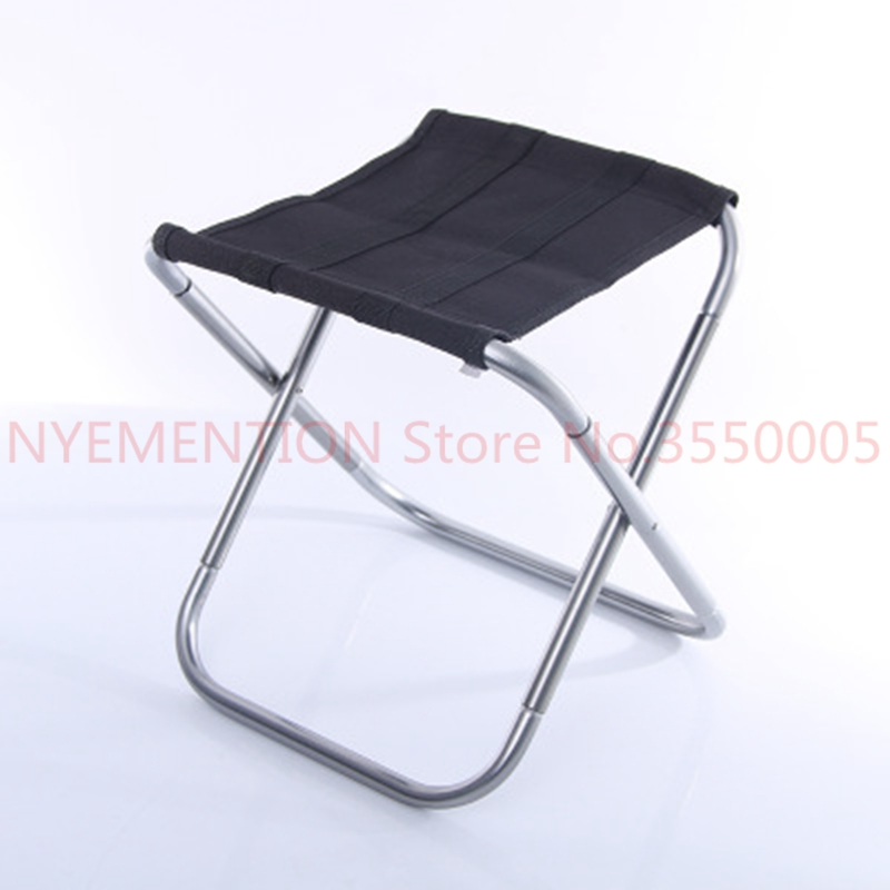 Aluminium Alloy Folding Fishing Seat Stool Portable Foldable Fishing Chair for Outdoor Camping Fishing Picnic BBQ Beach 1pcs 1pcs lightweight folding fishing chair portable camping stool seat foldable chairs seat for fishing pesca picnic beach party bbq