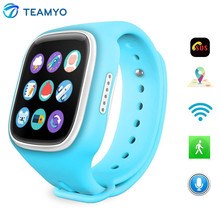 เด็กน่ารักนาฬิกาwi-fiตำแหน่งgps smart watchเด็กปลอดภัยSOSโทรFinderติดตามป้องกันการสูญหายนาฬิกาข้อมือสนับสนุนซิมการ์ดสำหรับเด็ก