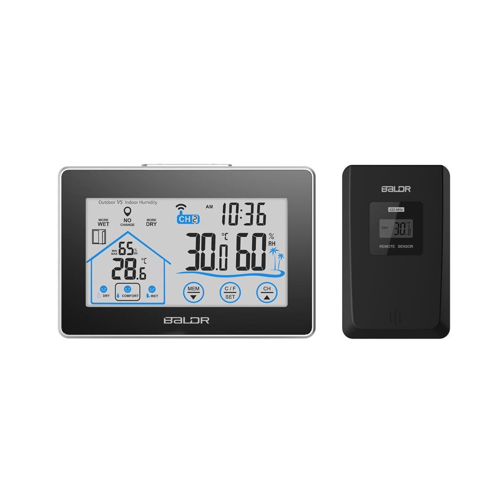 Thermometer Hygrometer Wireless Thermometer Temperature sensor Meter termometro digitale thermometre weather station meteo стоимость