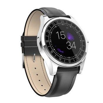 DT19 reloj electrónico inteligente pantalla táctil capacitiva Bluetooth Dial de conexión teléfono Monitor de ritmo cardíaco alarma recordatorio funciones