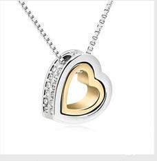 BeBella большой серый Хрустальный каменный кулон ожерелье сделано с австрийскими кристаллами от Swarovski для женщин подарок