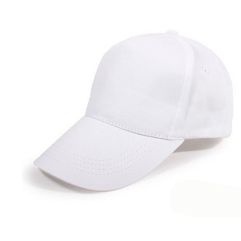 branded baseball caps australia custom printed no minimum popular brands hats fashion cap women men summer spring sport solid adult white hat