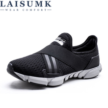 LAISUMK 2019 Designer Mens Sneaker Shoe Slip On Spring Summer Dirty Shoes High Quality Fashion Casual For Man Size 39-46
