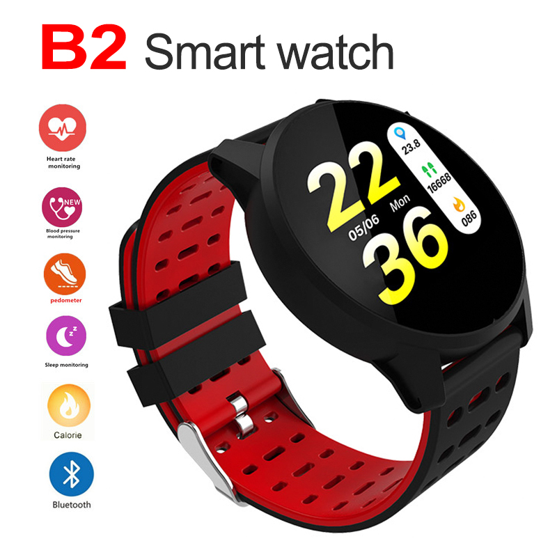 B2 Bluetooth Smart Watch Unlocked Watch Phone Heart Rate Monitor Sport Fitness Tracker Touch Screen bracelet for Android IOSB2 Bluetooth Smart Watch Unlocked Watch Phone Heart Rate Monitor Sport Fitness Tracker Touch Screen bracelet for Android IOS