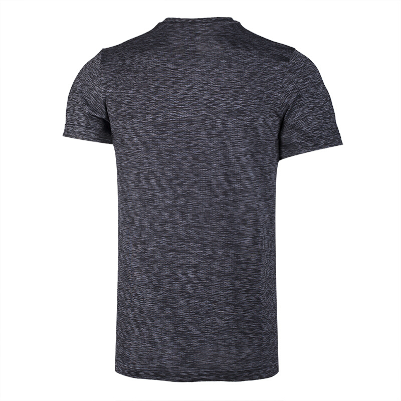 Li-Ning 2018 Men Running Series Sports T-Shirt Slim Fit 100% Polyester Li Ning T shirt Comfortable Breathable Tee Tops ATSN073